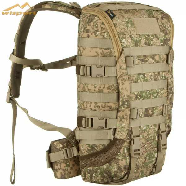 Wisport Zipper Fox 25l Rucksack pencott badlands