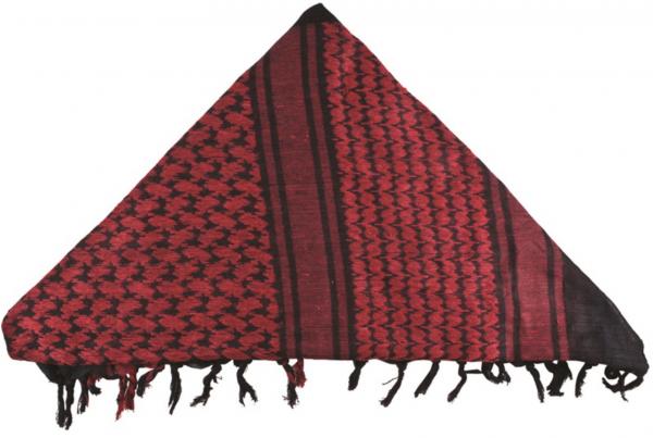BCB Shemagh red/black