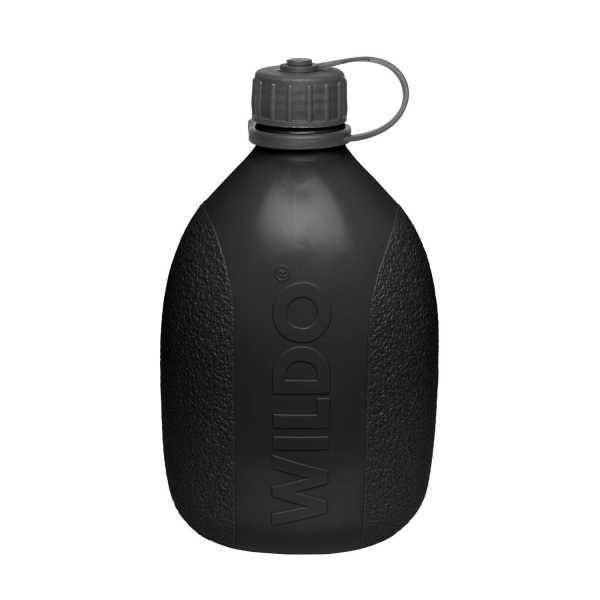 Wildo® Hiker-Flasche schwarz