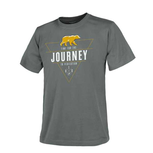 Helikon Tex T-Shirt (Journey To Perfection) shadow grau