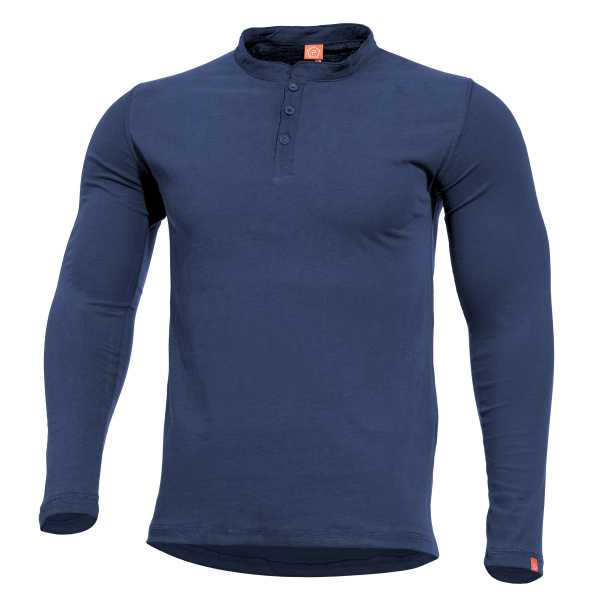 Pentagon Romeo Henley Shirt midnight blau