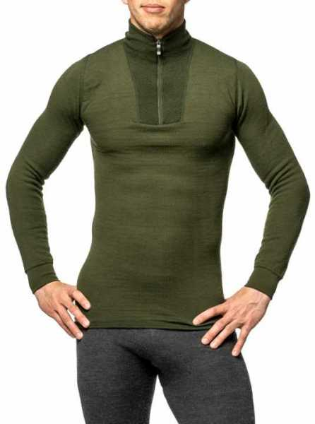 Woolpower Turtleneck 200 pine green