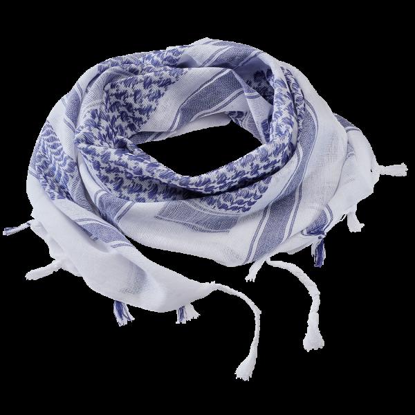 Shemag blau-weiß