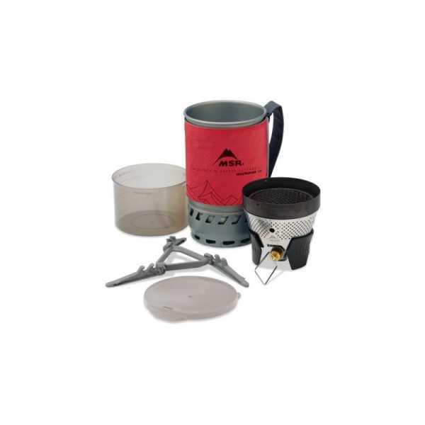 MSR WindBurner Personal Koch System rot