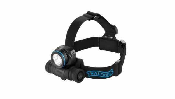 Walther Pro Stirnlampe HL31r schwarz 710 Lumen