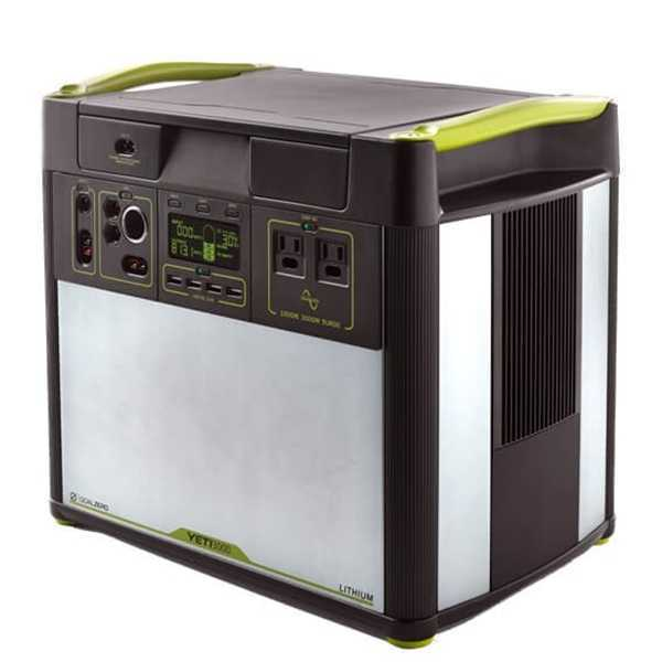 Goal Zero Yeti 3000 Lithium Solar Generator 3000 Wh