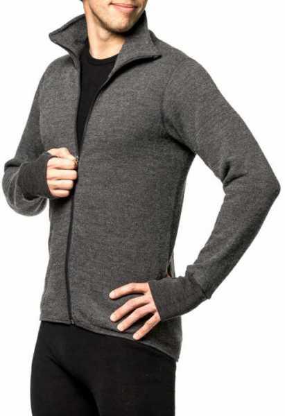 Woolpower Full Zip Jacket 400 grau