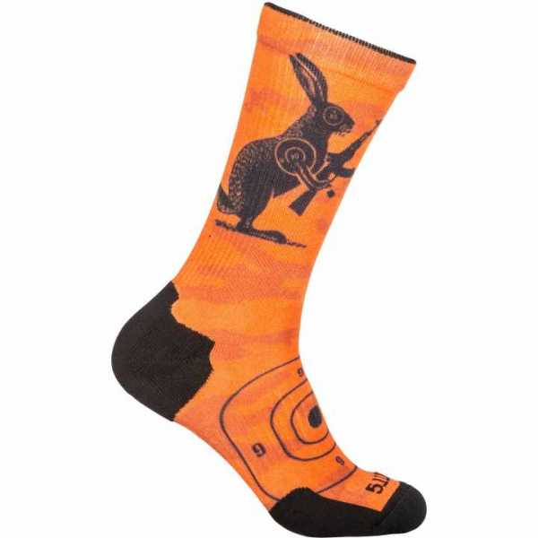 Socken Hase, orange