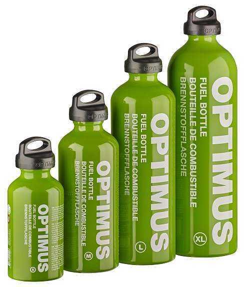 Optimus Brennstoff-Flaschen