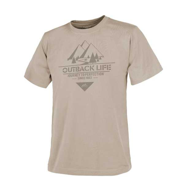 Helikon Tex T-Shirt (Outback Life) khaki