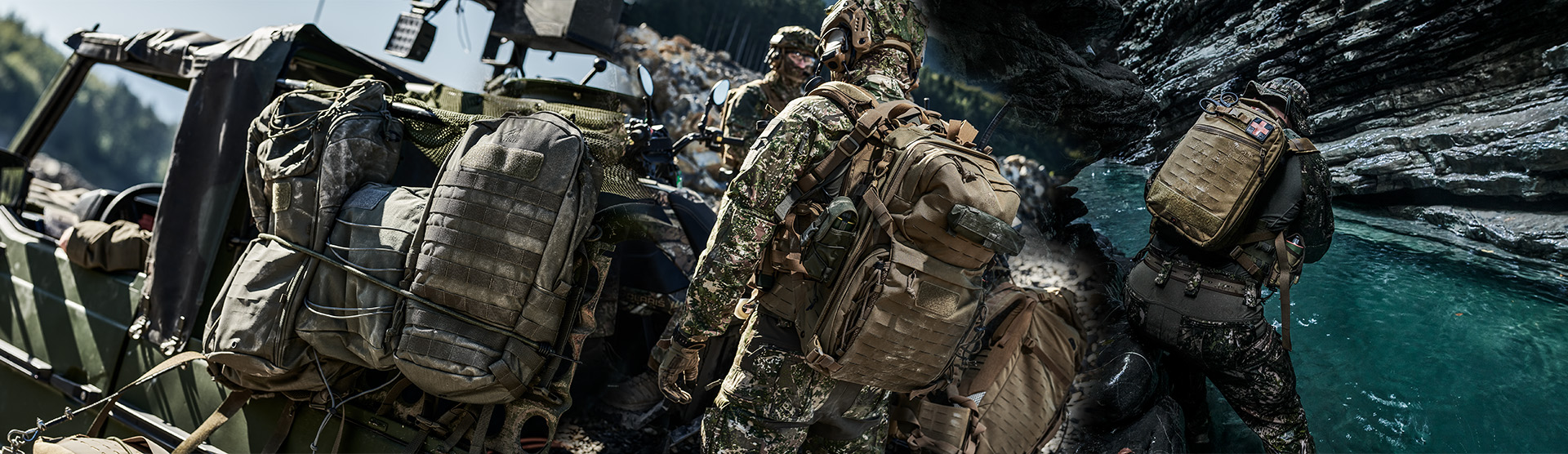 Militär Rucksack