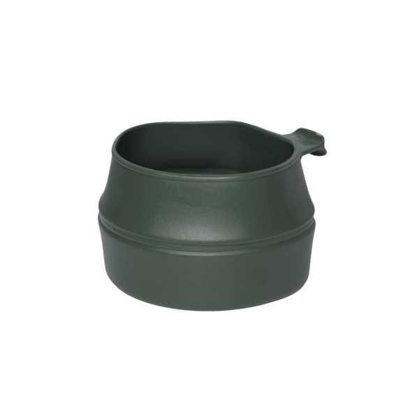 Faltbecher oliv