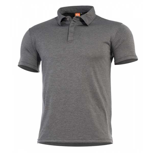 Pentagon Notus schnell trockendes Polo Shirt charcoal grau