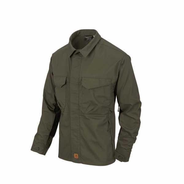Helikon Tex Woodsman Shirt taiga grün / schwarz