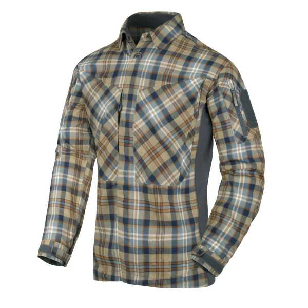 MBDU Flannel Shirt ginger-kariert