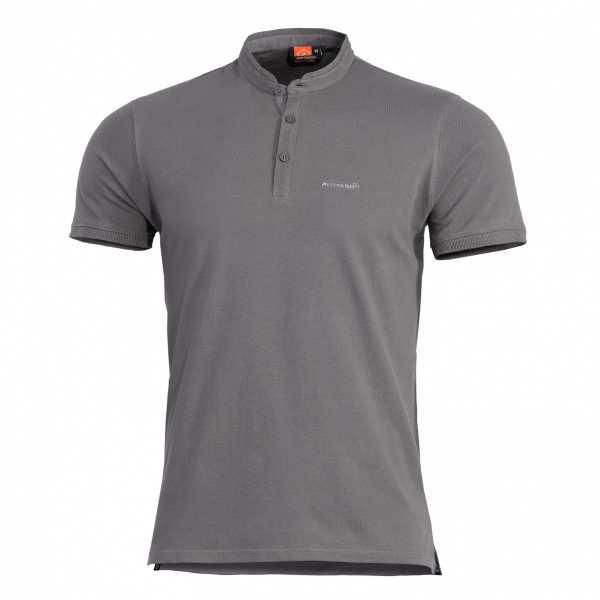 Pentagon Levantes Henley Shirt wolf grau