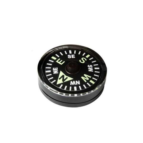 Knopfkompass Large schwarz