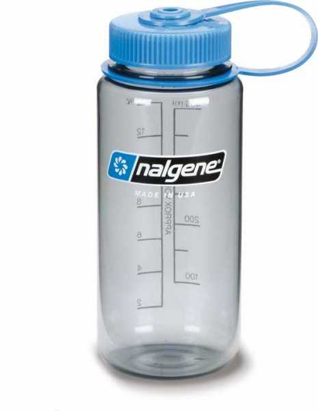 Nalgene Wide Mouth 0.5L - 16oz gray