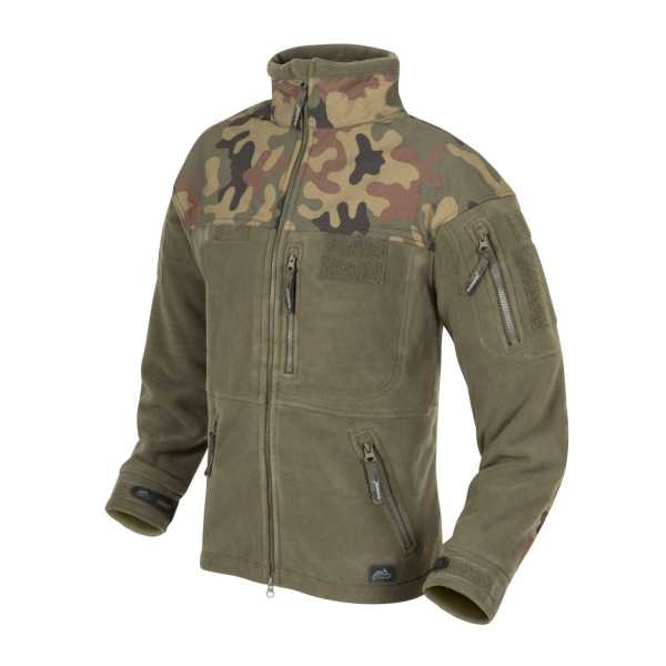 Helikon Tex Polish Infantry Jacket Fleece oliv / pl woodland